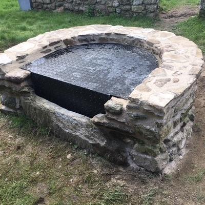 Réparation et sécurisation de puits en pierre - Saint-Malo