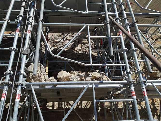 Reprise de maçonnerie suite effondrement d''un pignon pierre - Saint-Malo repisedemaconneriesuiteeffondrementdunpignonpierre-saint-malo