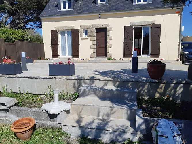 Création d''une terrasse en dalles - Rothéneuf (35) 20190521165645