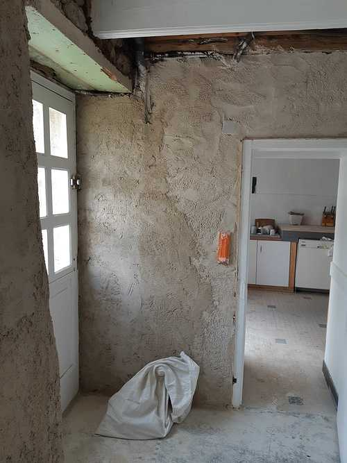 Enduit intérieur à la chaux - St Lunaire 20190604161522