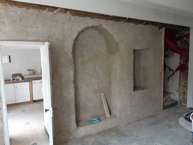 Enduit intérieur à la chaux - St Lunaire photo113