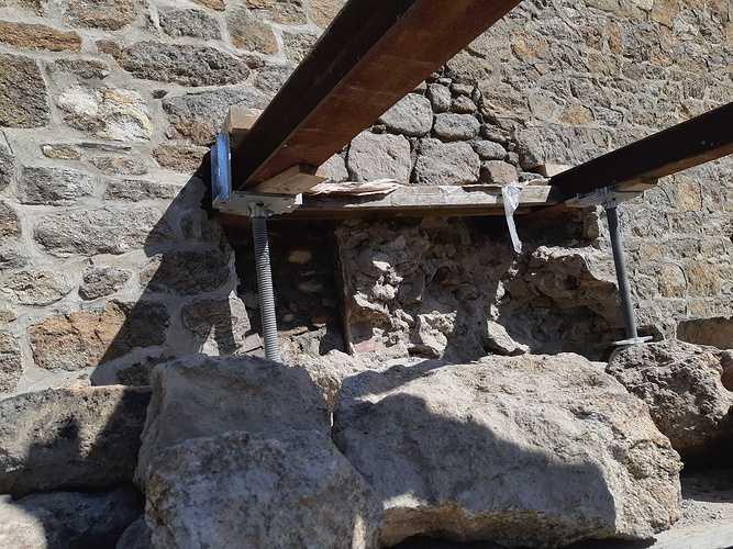 Réparation d''un pignon de maison - Saint-Malo 20190326141122