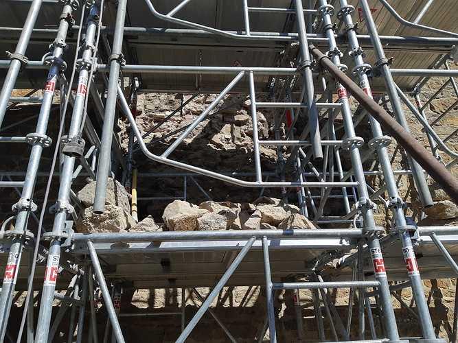 Réparation d''un pignon de maison - Saint-Malo 20190326141750